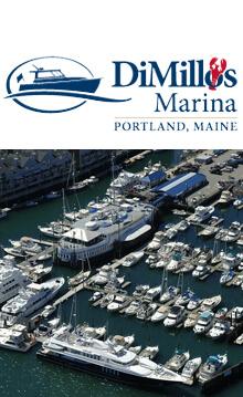 DiMillos Marina, Portland, Maine Logo