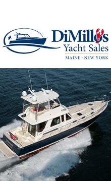 DiMillos Yacht Sales, Maine New York Logo